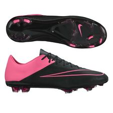 Nike Mercurial Vapor X Leather FG ACC (Black/Pink) 747565-006