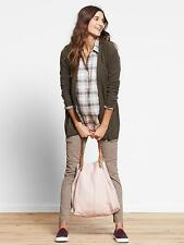 GAP MATERNITY Skinny Mini Full Panel Trigger Brown Cargo Pants 10 NWT ($59.95)