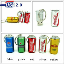 32GB 64GB Metal Beer Bottle Usb Flash Drive Memory Stick USB 2.0 Real Capacity