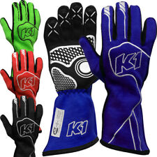 K1 - Champ SFI-5 Nomex Pro Auto Racing Gloves - Driving SFI Rated Lightweight!
