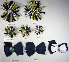 L.A. Rams Themed Hair Bows Korkers Classic Bottle Caps U-Pick