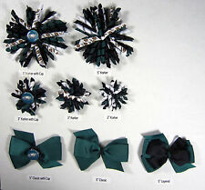 Philadelphia Eagles Themed Hair Bows Korkers Classic Bottle Caps U-Pick