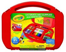 Crayola Ultimate All-In-1 Portable Art Studio Supplies Case with Built-In Easel