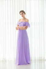 Fashion New Falbala Strapless Wedding Dress Chiffon Bridesmaid Dress Bridal Gown