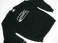 New PTS SHOE CO. CREW SWEATSHIRT BLACK LARGE MADE IN U.S.A.