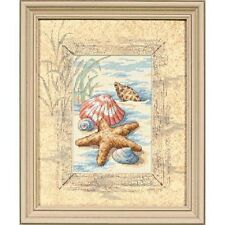 Dimensions D06956 Shells In The Sand Picture Counted Cross Stitch Kit 20 x 25cm