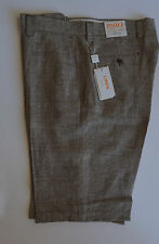 "Inserch Mens 100% Linen shorts (Styel: P2125) ""09-khaki Check3"""