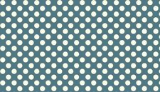 Makower 1200 | 100% Cotton Polka Dot Quilting Fabric ½m x 112cm/44in