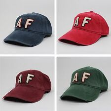 NEW Abercrombie & Fitch Baseball Cap Adjustable Strap Cotton Hat Fits All
