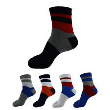 1/3/5 Pairs Mens Five Toe Socks Bamboo Fibre Ankle Cushion Odor Resistant Bulk