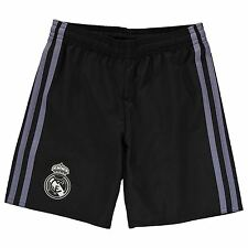 Adidas Real Madrid Third Shorts 2016 2017 Juniors Black/Purple Football Soccer