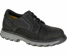 Caterpillar TYNDALL ESD ST P90710 Mens Black STEEL TOE Lace Up Work Shoes