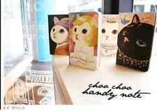 Korea Jetoy Notebook Plain Cute Black cat White cAt Princess Note pad-Gami
