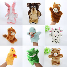 Animals Coloful Plush Hand Puppet Baby Kids Bunny hand puppet Games Arrival