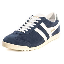 Gola Bullet Mens Trainers Navy White New Shoes