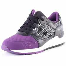 Asics Onitsuka Tiger Gel-lyte Iii Mens Trainers Black Purple New Shoes