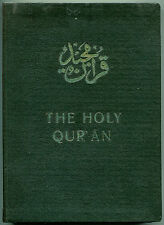 The Holy Qur'an - Arabic & English Text by Maulawi Sher'Ali - (1955,1st ed)
