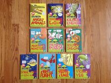 Lot of 10 HORRIBLE SCIENCE Books: Animals LIGHT Energy SPACE Time & More! NICE!