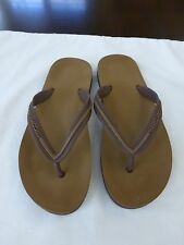 Marc Jacobs Brown Flip Flops Size Small
