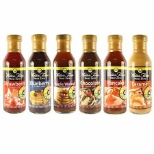 Walden Farms Near Zero Calorie Syrup Sauce Carb Free Fat Free All Flavours