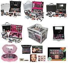 MAKE UP VANITY CASE BEAUTY COSMETIC SETS TRAVEL MAKEUP CARRY BOX GIRLS XMAS GIFT