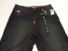"New LIFTED RESEARCH GROUP (L-R-G) ""OUTER BANKS"" JEAN C47 FIT BLACK (E07213C47)"