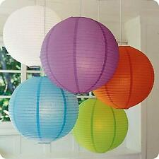 Paper Lantern Shade for Pendant Lamp Wedding Party Meeting Home Decorations