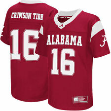 Colosseum #16 Alabama Crimson Tide Youth Crimson Football Jersey