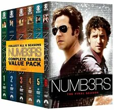 Numb3rs: The Complete Series (Numbers) (31 Disc) DVD NEW