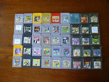 Game Boy Games / Game Boy Color Games - Select From List - Gameboy, GBC
