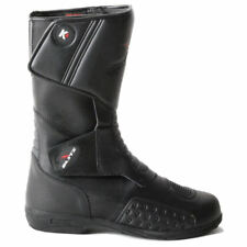 Blytz K4 Leather Waterproof Long Motorbike Motorcycle Scooter Touring Boots