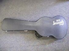 GIBSON Black/Gray Hard Shell Guitar Case for SG JR; SONIX. with dust cover