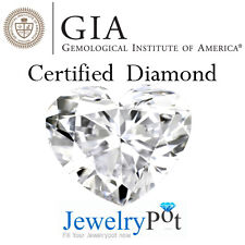 1.04CT F SI2 Heart GIA Certified & Natural Brilliant Loose Diamond (2131913537)