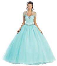 Quinceanera Evening Gown Strapless Formal Prom Dress