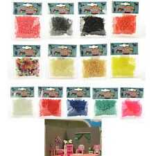 500x Mini Hama Beads Fuse DIY Beads for Handmaking Toys Pegboard Xmas Gift WB