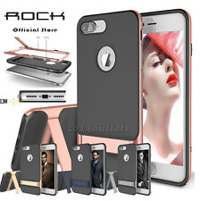 iPhone 7/7 Plus Case,Genuine ROCK [Hybrid Stand] Shockproof Hard Bumper fr Apple