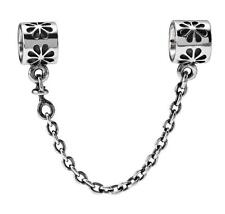 authentic Pandora 925ale silver  Daisy Safety Chain 790385
