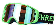 SHRED Optic Simplify Goggle 2017 w Cylindrical Lens+ Bonus Lens - Lens Case Incl