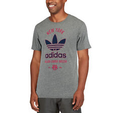adidas New York Red Bulls Gray Classic Label Tri-Blend T-Shirt