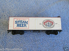 "HO ROUNDHOUSE "" ANCHOR STEAM BEER"" '36 WOOD BILLBOARD REFRIGERATOR FREIGHT CAR."