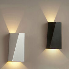 Modern 10W LED Up & Down Wall Sconce Light Bedroom Bedside Hallway Lamp Fixture