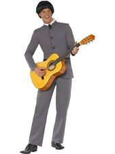 SALE! Adult 60s 70s Fab Four Beatles Style Mens Fancy Dress Costume Party Outfit