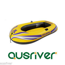Inflatable Boat for Single/2/3 Person Blow Up Hold 165kg Water Sport Drift +Oars