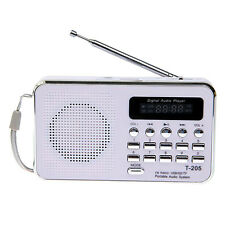 Mini Portable Digital FM Radio Speaker USB Micro SD TF Card Mp3 Music Player