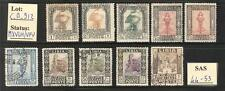 """C_A_912. LIBIA. 1924 """"PITTORICA"""" set. Mint and used."""
