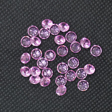 Wholesale Pink Round Cubic Zirconia 5MM Stone Loose 50-200pcs A LOT