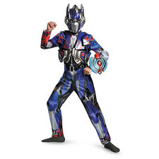 Boys Transformers Optimus Prime Movie Deluxe Costume