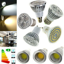 E14 E27 GU10 MR16 GU5.3 LED Spotlight Bulb 3W 5W 9W 12W 15W SMD/COB/Epistar Lamp