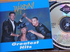 WHODINI - Greatest Hits CD 1990 Jive / BMG USA AS NEW! Best Of