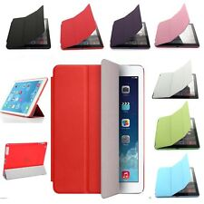 Magnetic Smart Leather Cover + Back Case For Apple New iPad Air Sleep Wake Flip